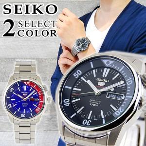 SEIKO セイコー 逆輸入 機械式 メカニカル 自動巻き カレンダー SRPB-SELECT SRPB25K1 SRPB27K1 メンズ 腕時計 海外モデル メタル カジュアル|tokeiten
