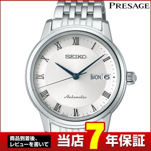 SEIKO セイコー メタル SRRY013 自動巻き レディース 腕時計 PRESAGE プレザージュ 白 ホワイト 金 ピンクゴールド|tokeiten