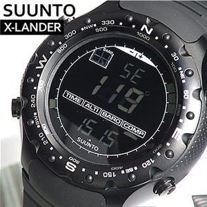 SUUNTO スント 腕時計 時計 メンズ 海外モデル SS012926110 X-LANDER MILITARY スント X・ランダーミリタリー 本格アウトドアウォッチ ブラック 黒|tokeiten