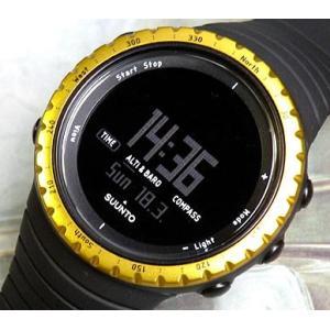 全品スント SUUNTO コア CORE ブラック×イエロー SS013315010 スント 腕時計|tokeiten