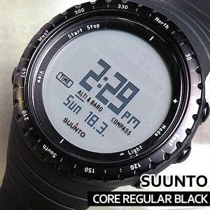 スント SUUNTO コア CORE レギュラー ブラック ss014809000 スント 腕時計|tokeiten