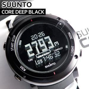 SUUNTO CORE スントコア SS018734000 ALU DEEP BLACK ディープブラック 海外モデル|tokeiten