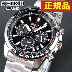 セイコー SEIKO クロノグラフ SSB031PC 正規海外モデル日本製ムーブメント メンズ 腕時計|tokeiten