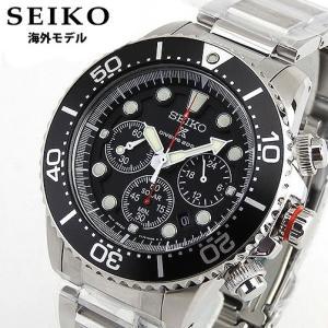SEIKO セイコー SSC015P1 海外モデル ダイバークロノグラフ ソーラー メンズ 腕時計 ダイバーズウォッチ|tokeiten
