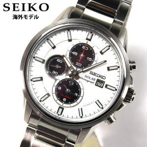 SEIKO セイコー クロノグラフ ソーラー SSC251P1 海外モデル メンズ 腕時計 時計 ウォッチ 新品 並行輸入品|tokeiten