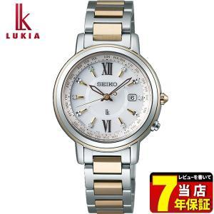 先行予約受付中 LUKIA ルキア SEIKO セイコー 電波ソーラー SSQV032 レディース 腕時計 国内正規品 金 ゴールド 銀 シルバー チタン メタル tokeiten