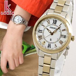 ポイント最大15倍 ルキア セイコー レディダイヤ ソーラー電波 レディコレクション SSQV066 レディース 腕時計 国内正規品 金 銀 白蝶貝 チタン|腕時計 メンズ アクセの加藤時計店