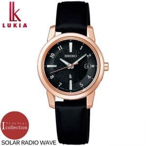 ポイント最大15倍 セイコー ルキア ソーラー電波 アイコレクション レザー レディース ウォッチ 腕時計 SSQV086 ローズゴールド 黒 国内正規品|腕時計 メンズ アクセの加藤時計店
