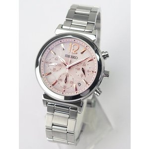 ポイント10倍 SEIKO セイコー LUKIA ルキア SSVS015 レディース 腕時計ソーラー クロノグラフ SMILEUP LUKIA 国内正規品 綾瀬はるか|tokeiten|02