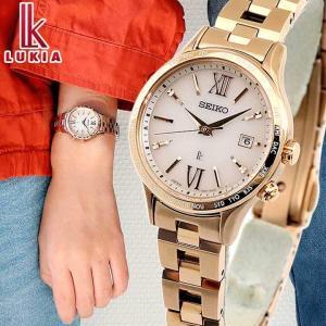 ポイント最大7倍 セイコー ルキア スタンダードコレクション ソーラー電波 レディース 腕時計 ピンク ローズゴールド SSVV040 国内正規品|腕時計 メンズ アクセの加藤時計店