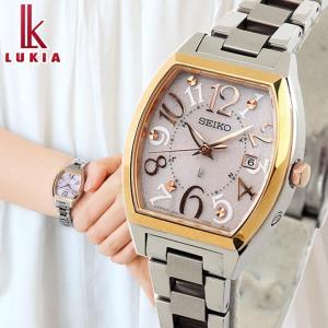 リップポーチ付 ポイント最大24倍 セイコー ルキア SEIKO LUKIA 腕時計 ソーラー電波 ...