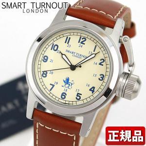 SMART TURNOUT スマートターンアウト ST-003BE 9814058 メンズ 男性用 レディース ユニセックス 腕時計 レザー 革バンド ブラウン|tokeiten