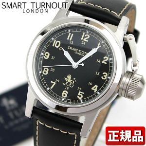 SMART TURNOUT スマートターンアウト ST-003BK 9814060 メンズ 男性用 腕時計 レザー 革バンド ブラック 黒|tokeiten