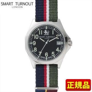 ポイント最大26倍 SMART TURNOUT スマートターンアウト 9814001 STA-AH18 メンズ 男性用 腕時計 黒 ブラック ナイロン バンド ミリタリー 正規品|tokeiten