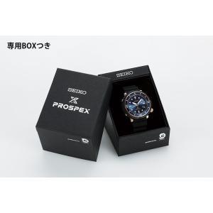 ノベルティ付 PROSPEX プロスペックス TUNA-CAN ツナ缶  SEIKO ソーラー STBR007 LOWERCASE 限定モデル メンズ 腕時計 国内正規品 黒 ブラック シリコン|tokeiten|04