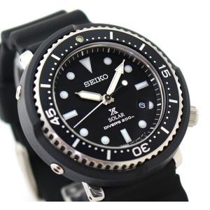 ノベルティ付 PROSPEX プロスペックス TUNA-CAN ツナ缶  SEIKO ソーラー STBR007 LOWERCASE 限定モデル メンズ 腕時計 国内正規品 黒 ブラック シリコン|tokeiten|05