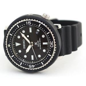 ノベルティ付 PROSPEX プロスペックス TUNA-CAN ツナ缶  SEIKO ソーラー STBR007 LOWERCASE 限定モデル メンズ 腕時計 国内正規品 黒 ブラック シリコン|tokeiten|08