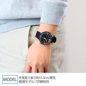 ノベルティ付 PROSPEX プロスペックス TUNA-CAN ツナ缶  SEIKO セイコー ソーラー STBR009 LOWERCASE 限定モデル メンズ 腕時計 国内正規品 ブラック シリコン tokeiten 02
