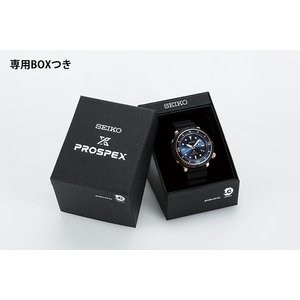 ノベルティ付 PROSPEX プロスペックス TUNA-CAN ツナ缶  SEIKO セイコー ソーラー STBR009 LOWERCASE 限定モデル メンズ 腕時計 国内正規品 ブラック シリコン tokeiten 05