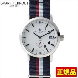 ポイント最大26倍 SMART TURNOUT スマートターンアウト 9814002 STC1-NS20 メンズ 男性用 腕時計 青 ネイビー ナイロン バンド 正規品|tokeiten
