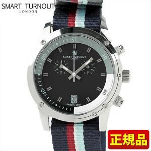 ポイント最大26倍 SMART TURNOUT スマートターンアウト 9814038 STD2 NS20 メンズ 男性用 腕時計 白 ホワイト 赤 レッド 青 ネイビー ナイロン バンド|tokeiten