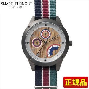 ポイント最大26倍 SMART TURNOUT スマートターンアウト 9814005 STE1-AR18 メンズ 男性用 腕時計 赤 レッド 青 ネイビー 緑 グリーン ナイロン バンド 正規品|tokeiten