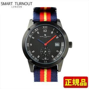 SMART TURNOUT スマートターンアウト 9814037 STE2 AA20 メンズ 男性用 腕時計 ウォッチ 赤 レッド 黄色 イエロー 青 ネイビー ナイロン バンド 正規品|tokeiten