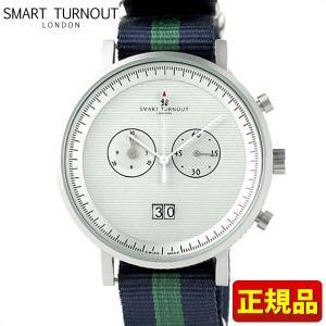 ポイント最大26倍 SMART TURNOUT スマートターンアウト 9814039 STF2 IC20 メンズ 男性用 腕時計 青 ネイビー 緑 グリーン ナイロン バンド|tokeiten