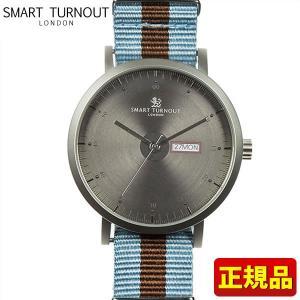 ポイント最大26倍 SMART TURNOUT スマートターンアウト STG1-ORG20 9814016 メンズ 男性用 腕時計 ナイロン バンド 正規品 水色 ブラウン|tokeiten