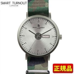 ポイント最大26倍 SMART TURNOUT スマートターンアウト 9814017 STG1-CAMO20 メンズ 男性用 腕時計 カーキ カモフラ ナイロン バンド 正規品|tokeiten