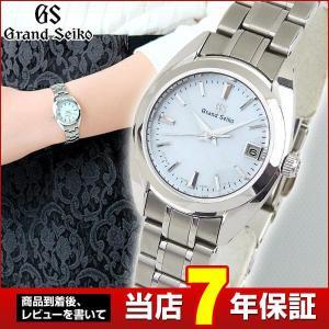 ポイント最大36倍 7年保証 SEIKO セイコー GRAND SEIKO グランドセイコー 白蝶貝ダイヤル レディース 腕時計 STGF275 クォーツ 国内正規品|tokeiten
