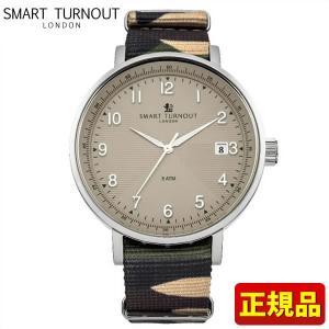 ポイント最大26倍 SMART TURNOUT スマートターンアウト 9814018 STH3 BE-CAMO20 メンズ 男性用 腕時計 カモフラ ナイロン バンド|tokeiten