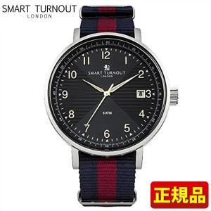 ストアポイント10倍 SMART TURNOUT スマートターンアウト STH3 BK HD/20 9814019 メンズ 腕時計 黒 ブラック 赤 レッド 青 ネイビー ナイロン バンド カジュアル|tokeiten