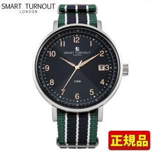 ポイント最大26倍 SMART TURNOUT スマートターンアウト 9814020 STH3 BL-DV20 メンズ 男性用 腕時計 青 ネイビー 緑 グリーン ナイロン バンド|tokeiten