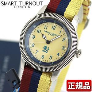 SMART TURNOUT スマートターンアウト 9814006 STJ002BE-MC18 メンズ レディース 男女兼用 腕時計 黄色 イエロー 青 ネイビー ナイロン|tokeiten