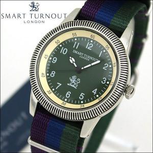 SMART TURNOUT スマートターンアウト STJ002KH-SC18 9814008 メンズ 男性用 腕時計 ナイロン バンド 青 ネイビー カーキ tokeiten