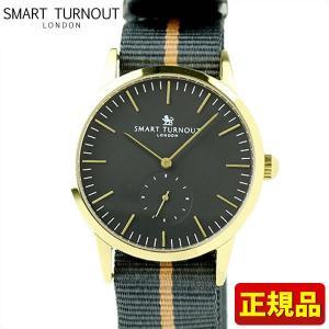ポイント最大26倍 SMART TURNOUT スマートターンアウト 9814041 STK3-BK YG メンズ 男性用 腕時計 黒 ブラック ナイロン バンド|tokeiten