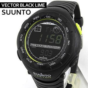 SUUNTO スント VECTOR ヴェクター ベクター BLACK LIME ブラックライム ss018729000 腕時計 メンズ 海外モデル アウトドア ウォッチ|tokeiten