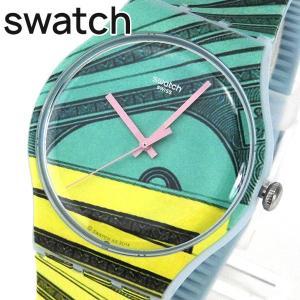 SWATCH スウォッチ NEW GENT MONEY HONEY ニュージェント マネーハニー SUOG107 ユニセックス 腕時計|tokeiten