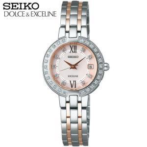 ポイント最大26倍 セイコー ドルチェ & エクセリーヌ SEIKO DOLCE&EXCELINE プレステージライン レディース 腕時計 SWCW085 ソーラー電波 国内正規品|tokeiten