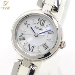 ポイント最大36倍 7年保証 SEIKO TISSE セイコー ティセ ソーラー レディース SWFA151 国内正規品 時計 腕時計 ブライダル 結納 シルバー ホワイト|tokeiten