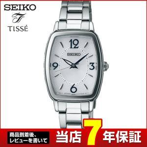 ポイント最大36倍 レビュー7年保証 セイコー ティセ 腕時計 SEIKO TISSEE ソーラー レディース トノー 時計 スーツ SWFA159 国内正規品|tokeiten