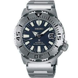 ストアポイント10倍 レビュー7年保証 SEIKO セイコー PROSPEX プロスペックス メカニカル SZSC003 国内正規品 メンズ 腕時計 ネイビー メタル|tokeiten