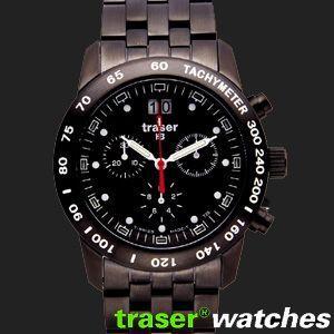 ポイント最大32倍 トレーサー TRASER ブラック ミリタリー クラシック クロノ プロ 腕時計 T4004.407.37.01 tokeiten
