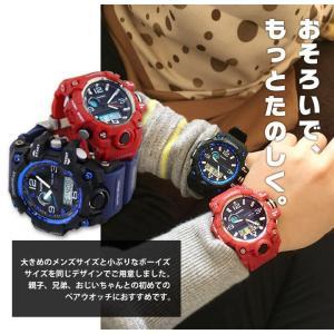 訳あり Tough GEAR タフギアー アナログ デジタル メンズ 腕時計 黒 ブラック 赤 レッド 青 ブルー ウレタン ランニングウォッチ スポーツ|tokeiten|05