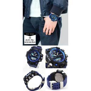 訳あり Tough GEAR タフギアー アナログ デジタル メンズ 腕時計 黒 ブラック 赤 レッド 青 ブルー ウレタン ランニングウォッチ スポーツ|tokeiten|07