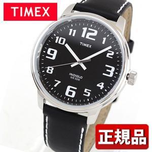TIMEX タイメックス T28071 国内正規品 Big easy Reader ビッグイージーリーダー アナログ メンズ レディース 腕時計 ウォッチ 黒 ブラック 革バンド レザー|tokeiten