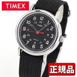 メーカー1年保証 TIMEX タイメックス TIMEX-T2N647 国内正規品 ウィークエンダー アナログ メンズ 腕時計 ウォッチ 黒 ブラック ナイロン バンド|tokeiten