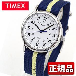 TIMEX タイメックス T2P142 国内正規品 メンズ レディース 腕時計 男女兼用 ユニセックス ナイロン バンド クオーツ アナログ 白 ホワイト 青 ネイビー|tokeiten