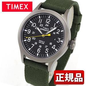 TIMEX タイメックス T49961 国内正規品 Expedition スカウトメタル アナログ メンズ レディース 腕時計 ユニセックス 黒 ブラック 緑 カーキ ナイロン|tokeiten